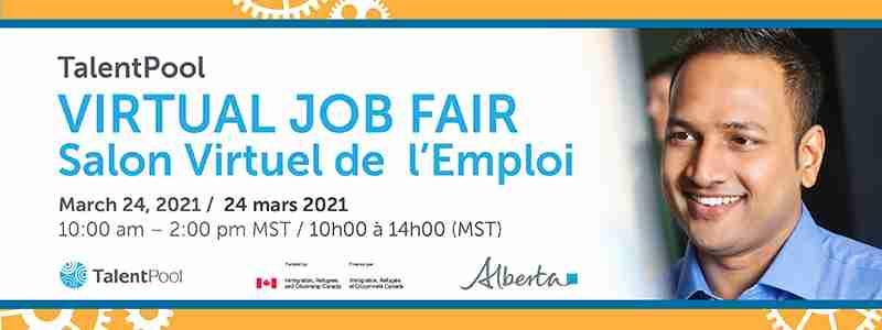 Talent Pool Job Fair March 24, 2021