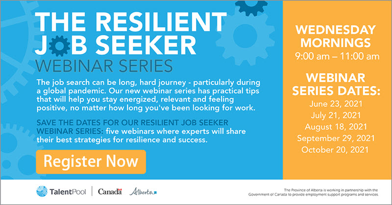 Resilient Job Seeker Register Now