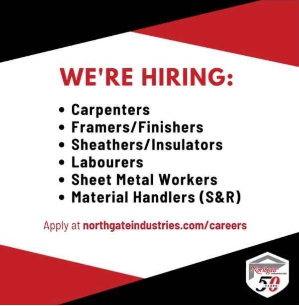 Northgate Industries Ltd Job Flyer
